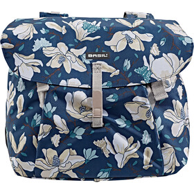 Basil Magnolia Luggage Carrier Double Bag L, teal blue